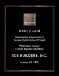 Watonwan County Human Services Building Award