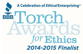 2014 BBB Torch Award for Ethics