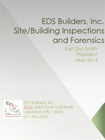 Site/Building Inspections and Forensics Brochure